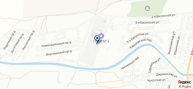 Пассажирское автотранспортное предприятие №3, ГП на карте