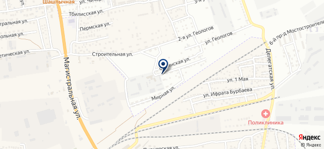 Автолаборатория на карте