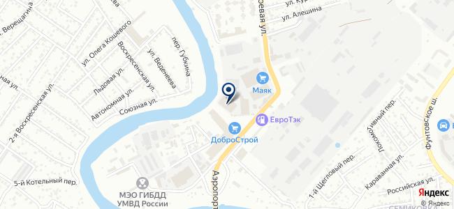 РОССНАБ, ООО на карте