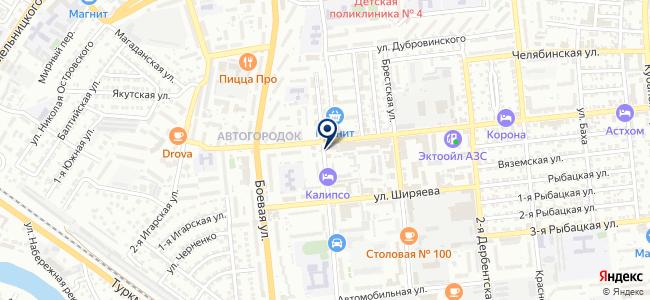 Юг, ООО на карте