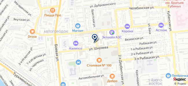 Электромонтажная фирма на карте