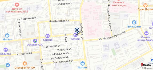Энергомера-Юг на карте