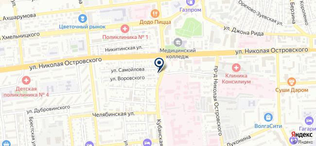 Оливин, ООО на карте