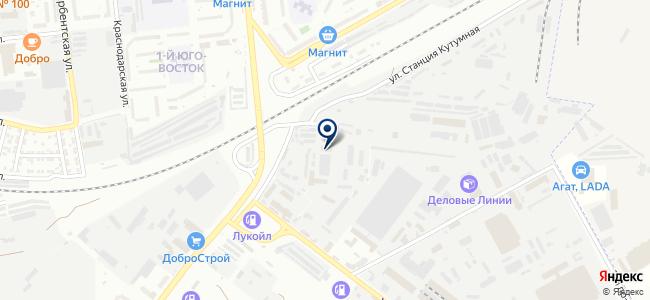 Поставщик, ООО на карте