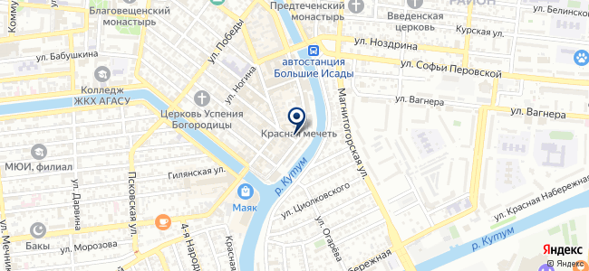 Рустехника на карте