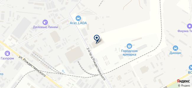 Вартон-Астрахань на карте