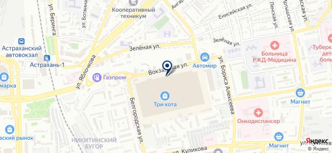 АЗН на карте
