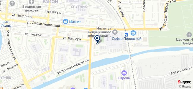 Пункт обслуживания клиентов №4 на карте