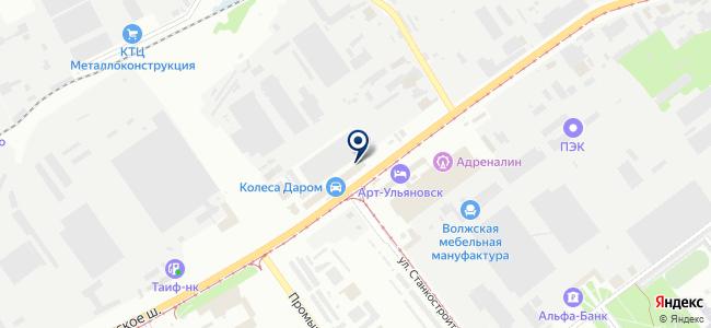 Макском-У, ЗАО на карте