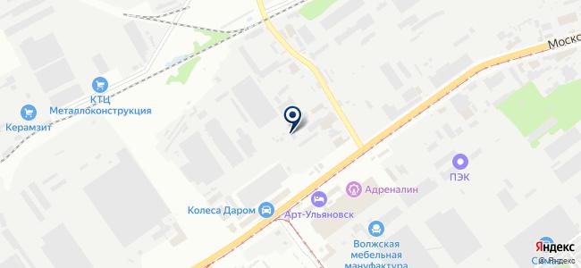 Промышленное строительство, ООО на карте