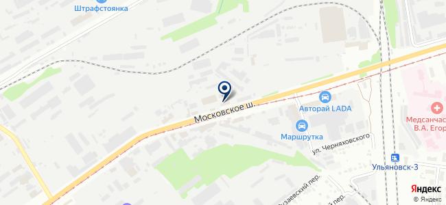 МР на карте