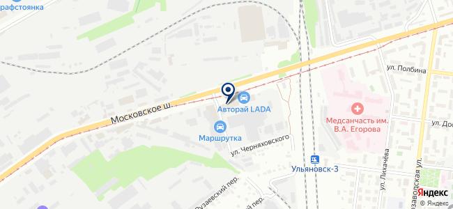 Аксон Quick на карте