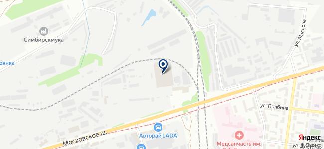 Практик, ООО на карте