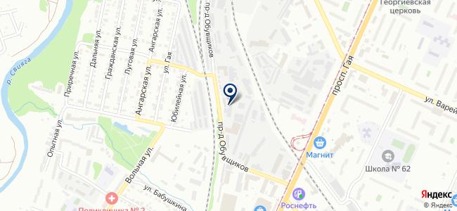 Контактор, ОАО на карте