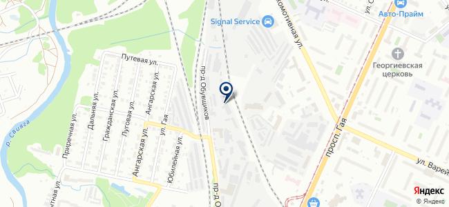 Техноресурс-М на карте