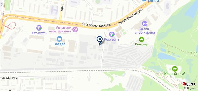 Симбирская кабельная арматура на карте