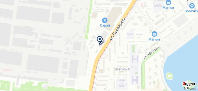 Астарта, ООО на карте