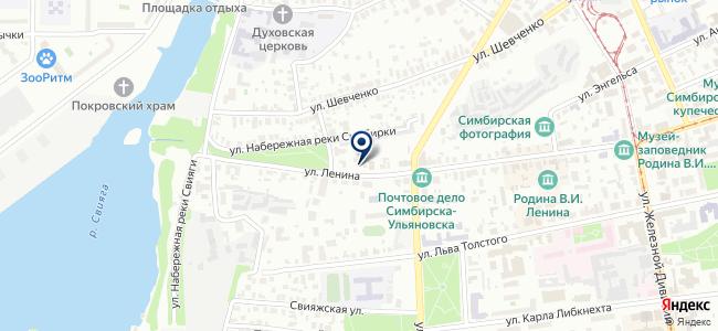 Светозон на карте