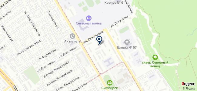 Комплексная Вентиляция, ООО на карте