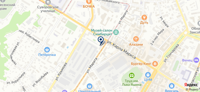 СБТ-Энергомонтаж, ООО на карте