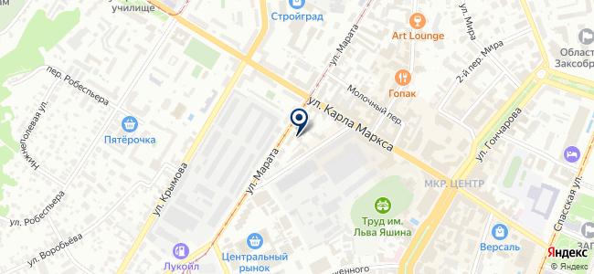 Люмен на карте