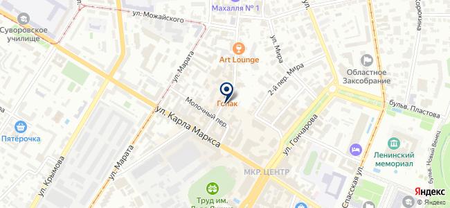 Balero на карте