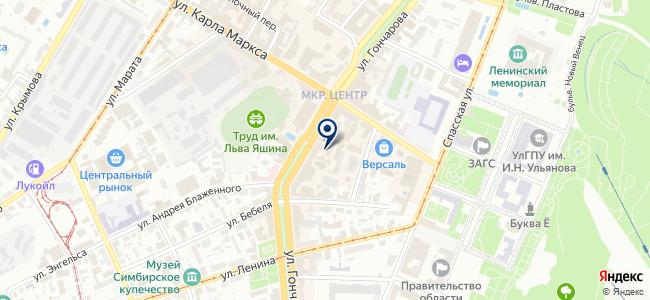 РегионЭнергоСервис на карте