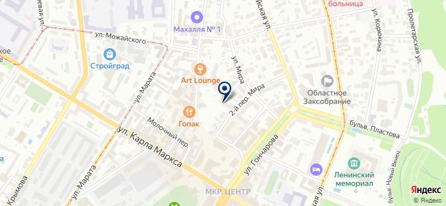 Региональный центр электротехнической продукции на карте