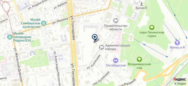 Эврика, ООО на карте
