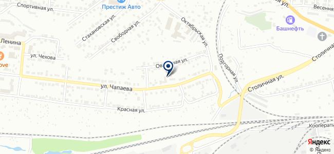 Алтын башак на карте