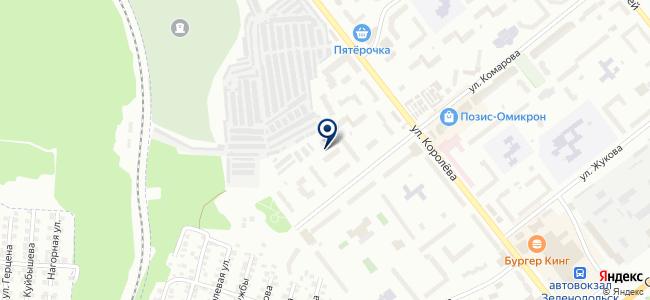 YouEye на карте