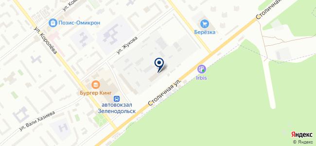 Камаз, ООО на карте