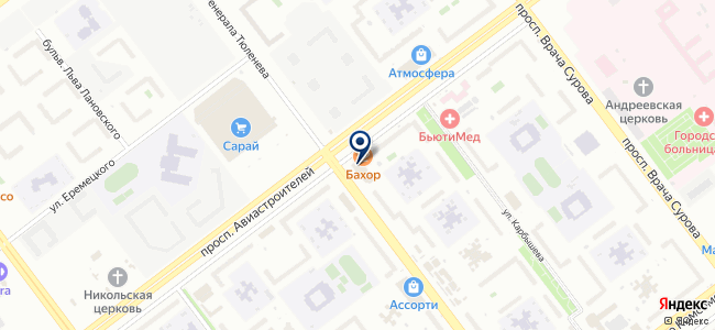 Магазин электротоваров на проспекте Авиастроителей, 7а на карте