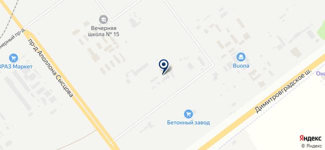 Союзтехнология, ЗАО на карте