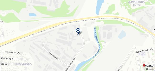 Энергостандарт плюс, ООО на карте