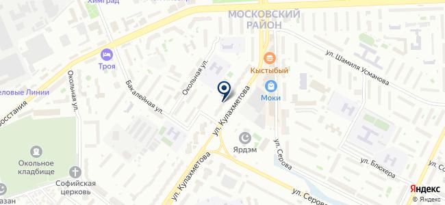 Инженерный центр, ООО на карте