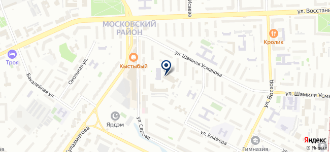 Литас, ЗАО на карте