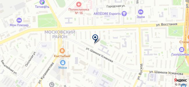 Нефтех, ЗАО на карте