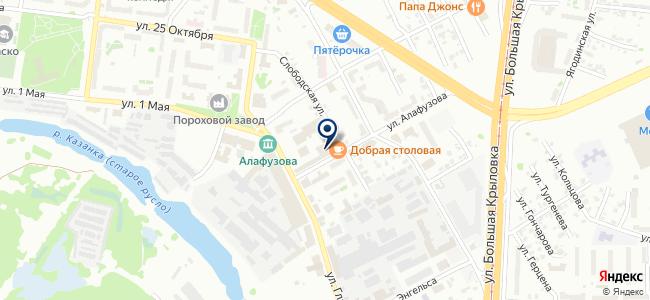 СБМ Груп Казань на карте