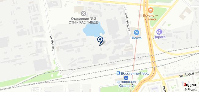 Строймонтаж сервис, ООО на карте