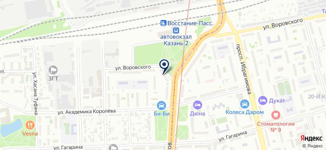 Железо, ООО на карте