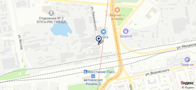 СпецРесурс, ООО на карте