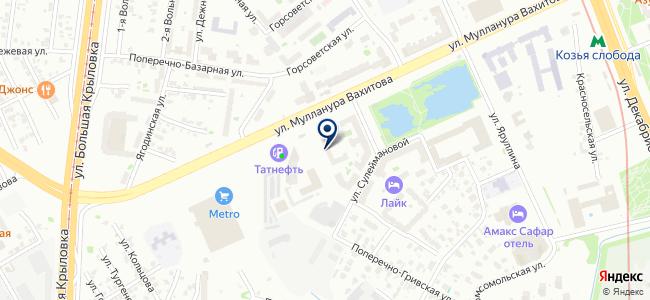 Аником на карте