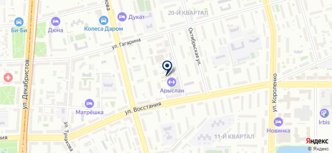МастерСтрой, ООО на карте