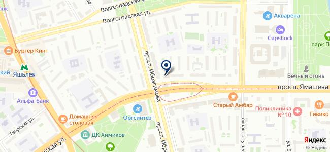 Главметиз, ООО на карте
