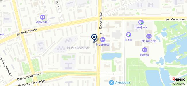 Магазин товаров смешанного типа на ул. Короленко, 73 на карте