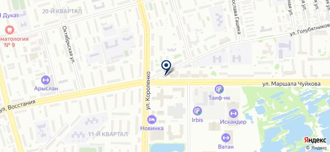 Гамма инжиниринг, ООО на карте