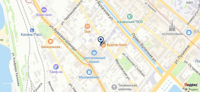 Фабрика автоуслуг на карте