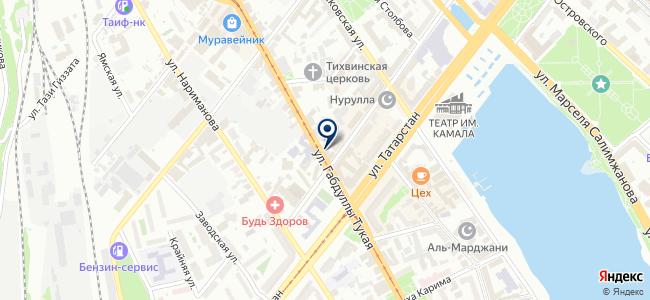Производственно-ремонтная компания на карте