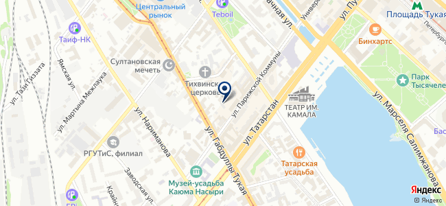 Фанат-Авто на карте